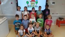 Onze eerste week in het eerste leerjaar