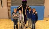 Munten zoeken met Zwarte Piet!
