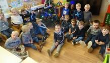 kerstsfeer in de klas!