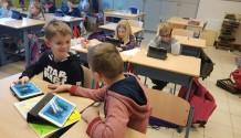 tutorlezen in het 3de leerjaar op de i-pad