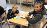 Tutorlezen: Samen lezen met kinderen uit de oudste klassen! SUPER!