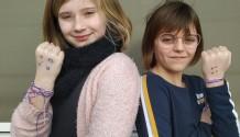 Activiteit van de leerlingenraad: vriendschapsbandjes maken tegen pesten!