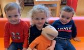 De eerste schoolweek voor Victor, Ilona en Julien.