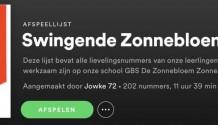 Beluister hier de enig echte Spotify muzieklijst 'Swingende Zonnebloemers'!