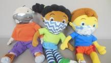 Ook Jules, Loulou en Pompom hebben een mondmasker!