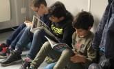 Leesmoment in de klas