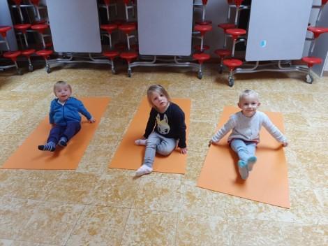 Yoga met juf Annelies