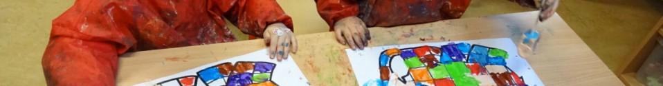 Thema: vormen en kleuren