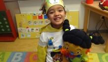 Hiep hiep hoera, Amie is 5 jaar!!