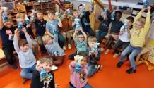 Paaseitjes zoeken in de klas!