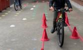 Voorbereiding fietsexamen
