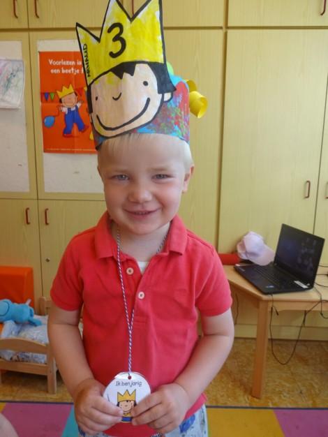 Arnaud is 3 jaar!