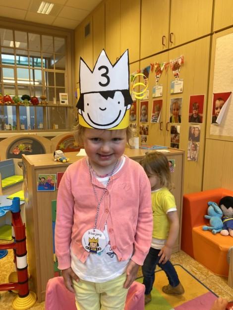 Allison is 3 jaar!