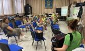 Bezoek aan de fanfare van Zonnebeke