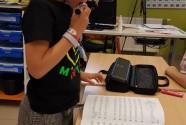 Een fluitist in de klas!
