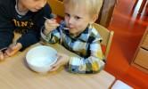 Thema: Pompom houdt van eten en drinken!