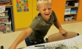 Beeld: action painting